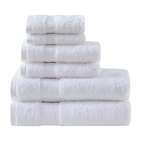 Madison Park Signature Luxor 6-pc. Solid Bath Towel Set