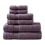 Madison Park Signature Luxor 6-pc. Solid Bath Towel Set