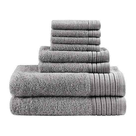 Madison Park Signature Reverie 8-pc. Solid Bath Towel Set