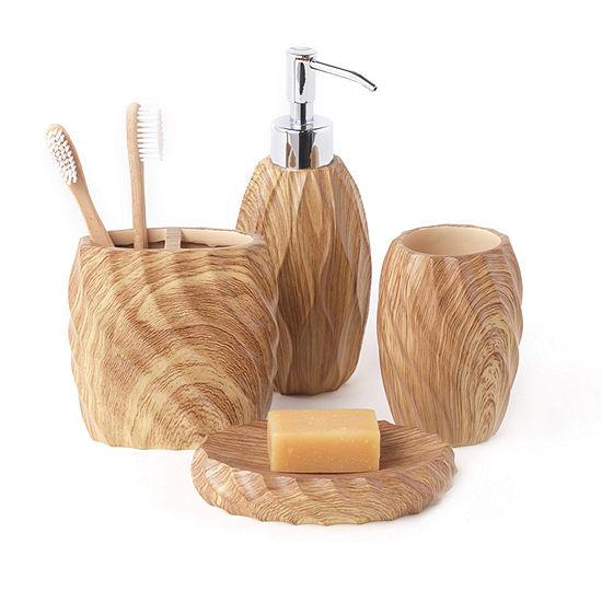 Wood Works 4-pc. Bath Accessory Set