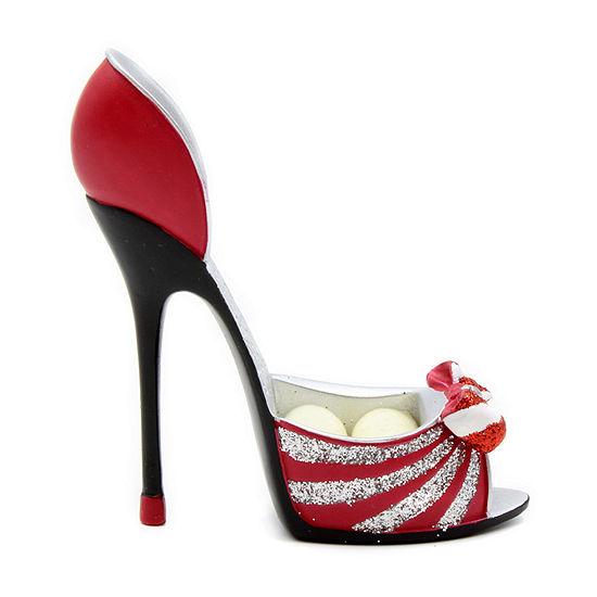 Mini Red Shoe Ring Holder