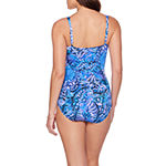 Trimshaper Slimming Control One Piece Swimsuit