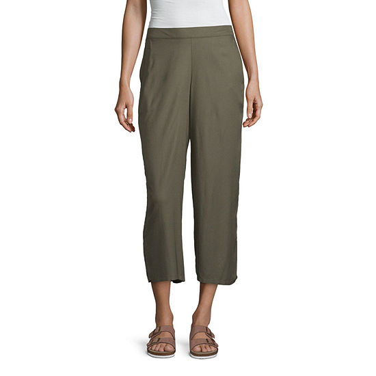 Arizona-Juniors Womens Flare Pull-On Pants