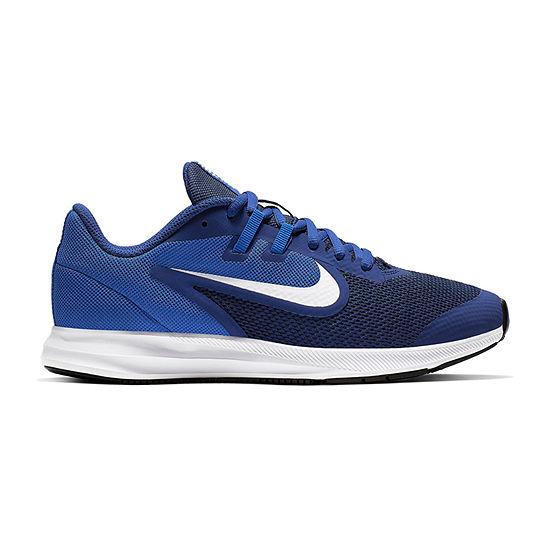 Nike Downshifter 9 Big Kids Boys Sneakers