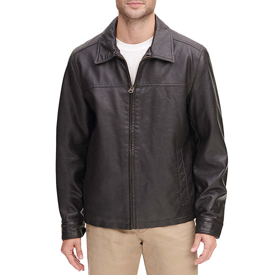 Dockers Faux Leather James Dean Jacket