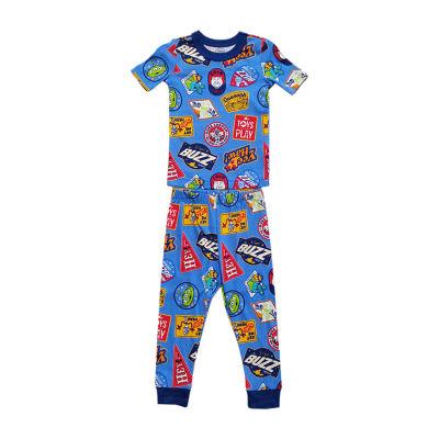 Disney Collection Little & Big Boys 2-pc. Toy Story Pant Pajama Set