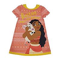wear  Age 4-10 Years Girls Kids Disney Moana Long Sleeve Pyjamas pjs Slee