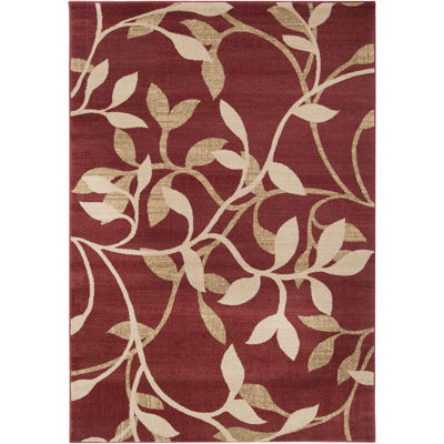 Surya® Riley Leaves Rectangular Rugs