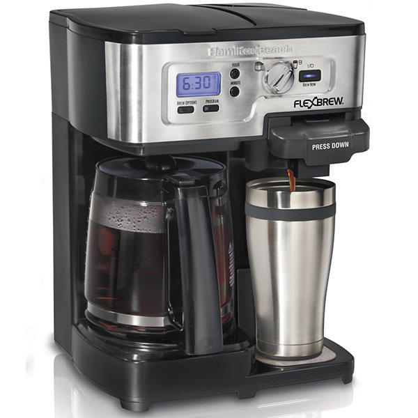 Hamilton Beach® 2-Way FlexBrew® Programmable Coffee Maker