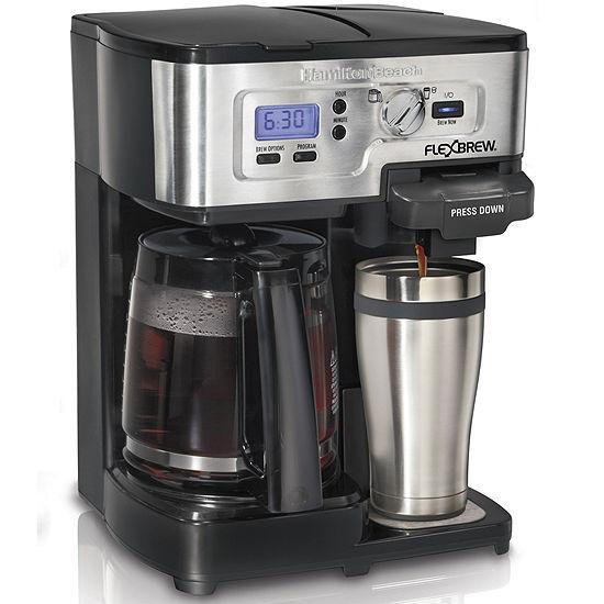 Hamilton Beach 2 Way Flexbrew Programmable Coffee Maker