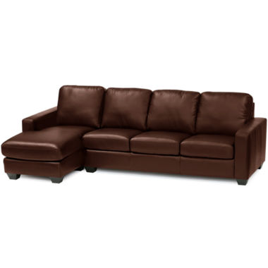 jcpenney.com | Leather Possibilities 2-pc. Right-Arm Sofa/Chaise Sectional