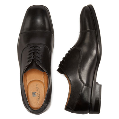 Collection by Michael Strahan Lloyd Mens Cap-Toe Oxford Shoes