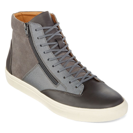 Collection by Michael Strahan Eli Mens Hi-Top Sneakers