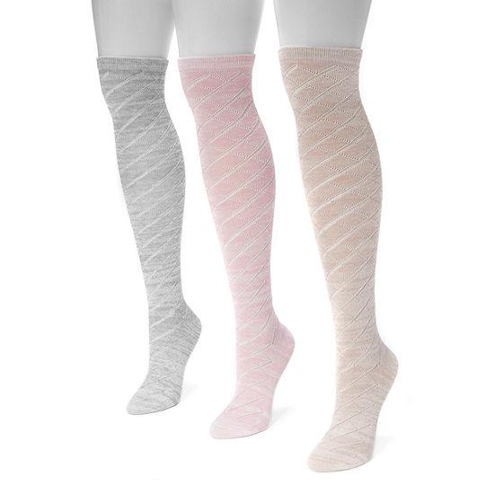 e188628e3cb Muk Luks Knee High Socks - JCPenney
