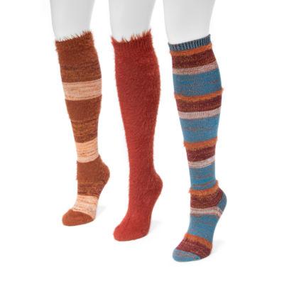 Muk Luks Knee High Socks - Womens