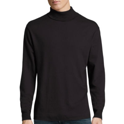 St. John's Bay® Long-Sleeve Legacy Interlock Turtleneck