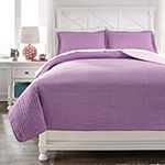 Signature Design by Ashley Dansby Reversible Coverlet Set