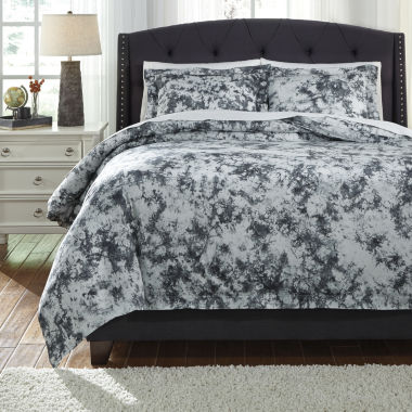 Signature Design by Ashley Darra 3-pc. Duvet Cover Set