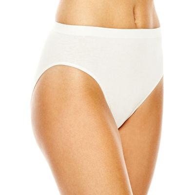 Jockey Comfies® Cotton Knit High Cut Panty 1361