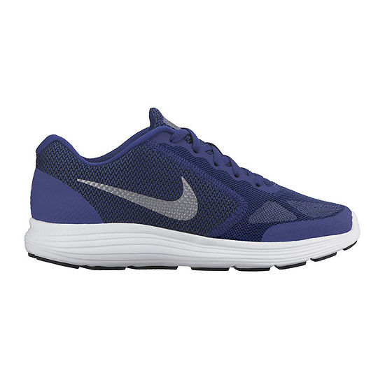 new style 09714 00c9b Nike Revolution 3 Boys Running Shoes Big Kids JCPenney