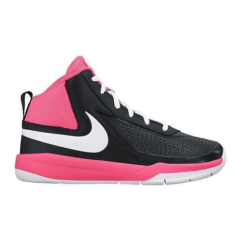 Nike® Team Hustle D 7 Girls Basketball Shoes - Little Kids/Big Kids
