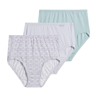 Jockey Plus Elance® Queen 3 Pair Brief Panty 1486
