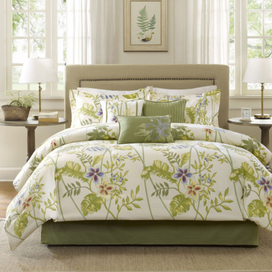 Madison Park Hana Tropical 7-pc. Comforter Set