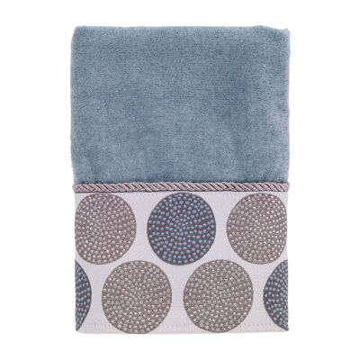 Avanti Dotted Circle Geometric Bath Towel