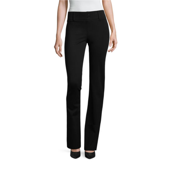 Alyx Straight Fit Ponte Pull-On Pants
