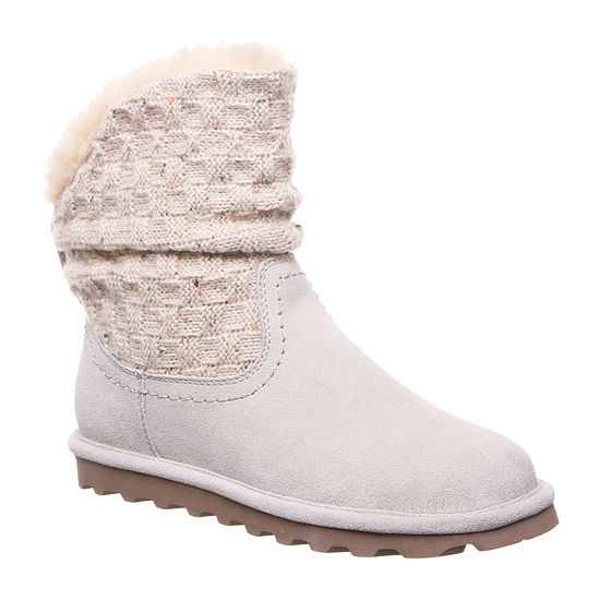 Bearpaw Womens Virginia Winter Boots Flat Heel