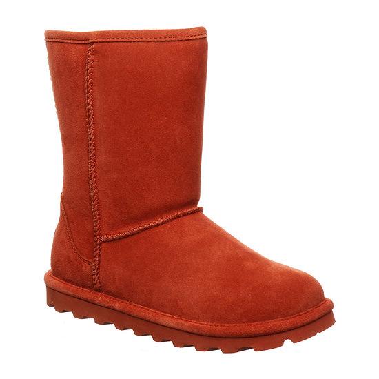 Bearpaw Womens Elle Short Flat Heel Winter Boots