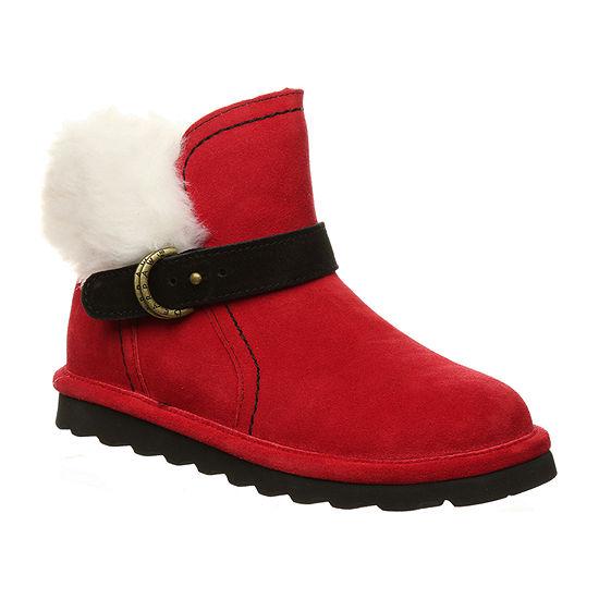 Bearpaw Womens Koko Winter Flat Heel Boots