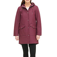 Deals on Levis Womens Hooded Water Resistant Lightweight Raincoat