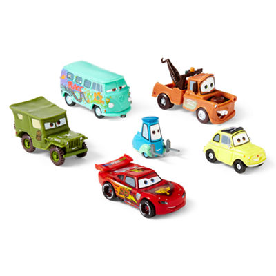 Disney Collection Cars 6-pc. Figure Set