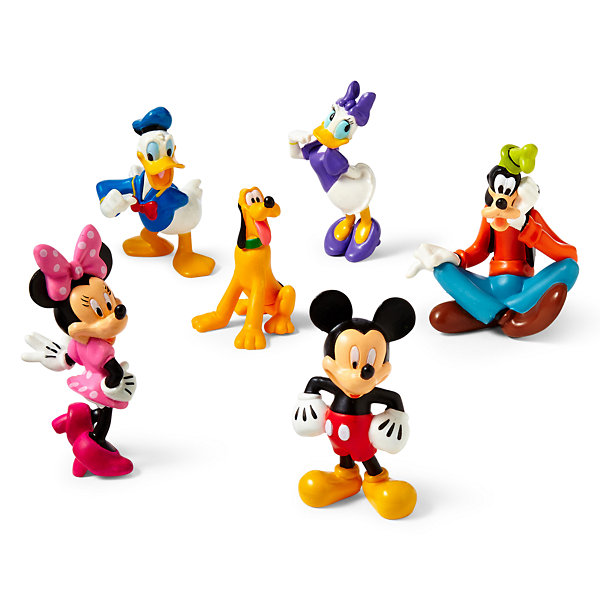 Disney Collection Mickey Mouse Clubhouse 6 Pc Figure Set