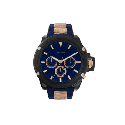 Rocawear Mens Black Bracelet Watch-Rm7814bk1-104