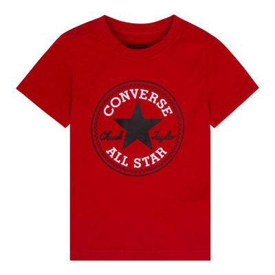 Converse Short-Sleeve Patch Tee - Preschool Boys 4-7