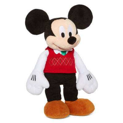 Disney Collection Medium Plush Holiday Mickey