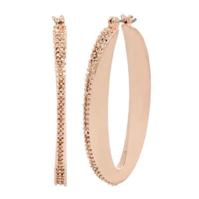 Worthington 45.7mm Hoop Earrings