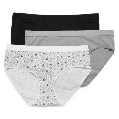 Hanes Ultimate™ Constant Comfort® X-Temp® Knit Hipster 3 Pair Panty 41xtb5