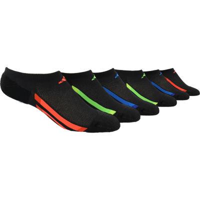 Adidas® Boys' Climalite No Show Socks 6-Pack