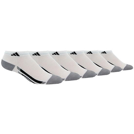 Adidas Boys Climalite Low Cut Socks 6 Pack