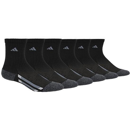 adidas Big Boys 6 Pair Crew Socks