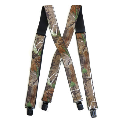 Realtree Camouflage Suspenders