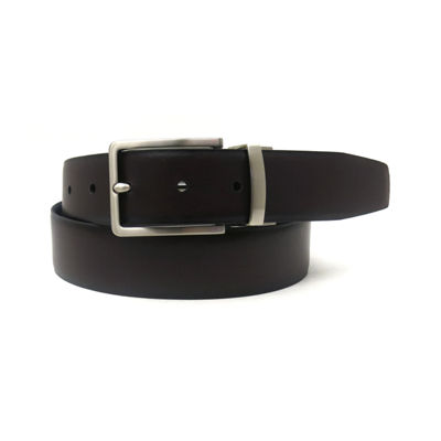 Geoffrey Beene Mens Reversible Belt
