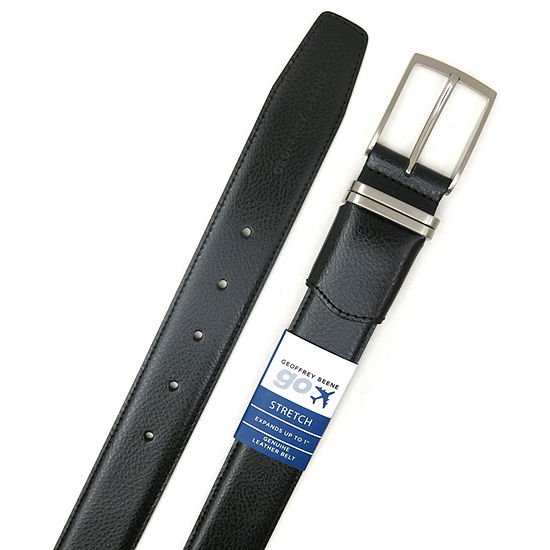 Geoffrey Beene® 35MM Comfort Flex Belt with Metal Loop