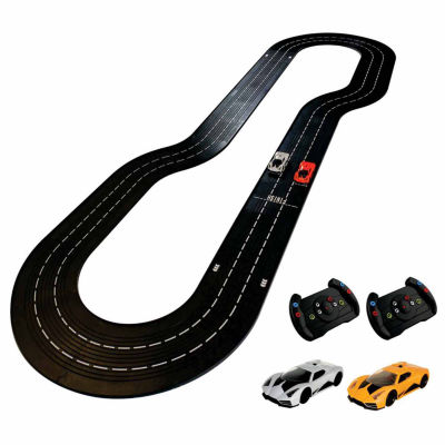 DMXSLOTS DMX Racer G2 Slot Car Racing Package  (5 button steering wheel controller)