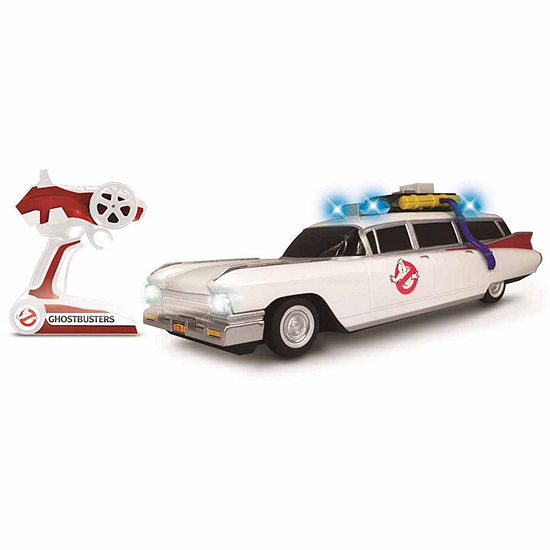 Ghostbusters R/C Ecto-1 Classic With Working Headlights  1:14 Scale