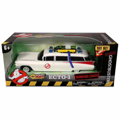 NKOK Ghostbusters RC Ecto-1 Classic w/ Working Headlights 1:14 Scale