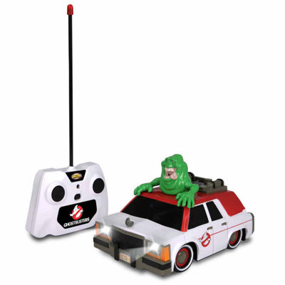NKOK Ghostbusters RC Ecto-1 w/ Glowing Slimer